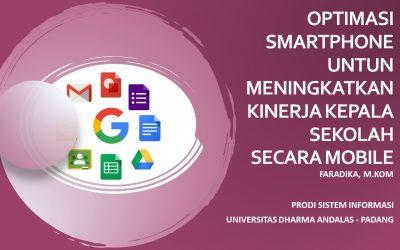 Dosen Unidha Beri Pelatihan Optimasi Smartphone untuk Kepala Sekolah SMA di Kota Padang