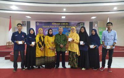 Dato' Prof Sudin Haron Beri Kuliah Umum Syariah Ways In Economic Development di Unidha