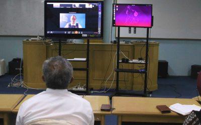 Dirjen Dikti Sosialisasikan Pemanfaatan Pembelajaran Daring
