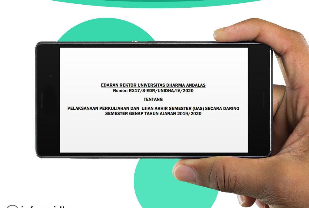 Surat Edaran Rektor Unidha ke 5 Terkait Pencegahan Penularan Covid 19