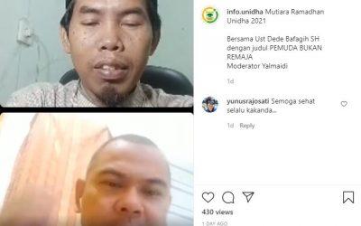 Mutiara Ramadhan : Pemuda Bukan Remaja
