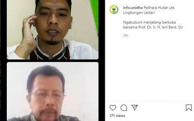 Mutiara Ramadhan : Pelihara Hutan Untuk Lingkungan Lestari
